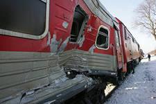 Крушение пассажирского поезда в Испании