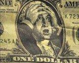 Доллар рухнул, Dow впервые преодолел отметку в 20 000 пунктов