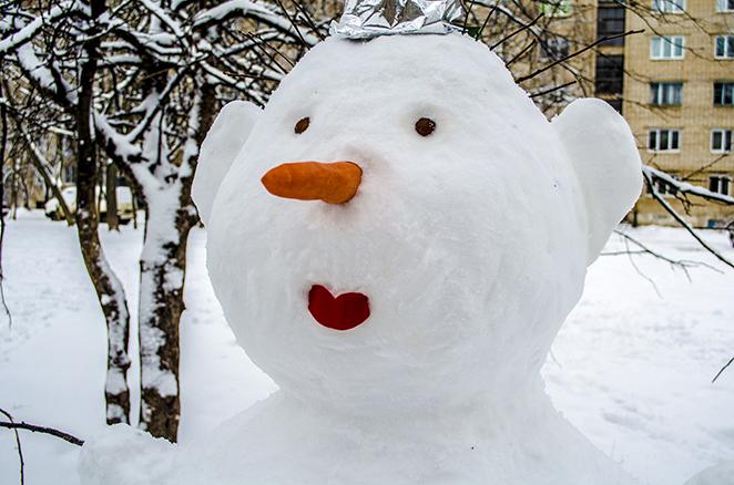 Снеговик своими руками - фото 2