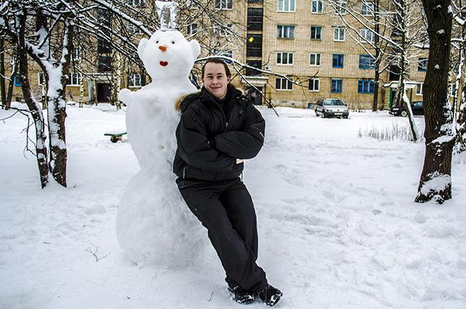 Снеговик своими руками - фото 3