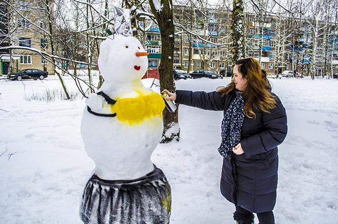 Снеговик своими руками - фото 4