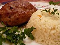 Котлеты с рисом