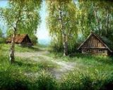 Отдых в деревне. Баня, свежий воздух и шашлычки
