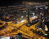 Смотровая площадка Бурдж Халифа и поющие фонтаны в Дубае