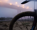 Велопрогулка по туманному Полоцку