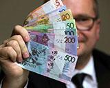 Новые деньги Беларуси – монетки очень маленькие