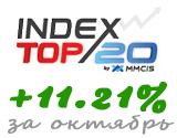 Доходность Index TOP 20 по итогам октября 2013 года - 11.21%