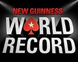 Участие в мировом рекорде Гиннесса от Poker Stars